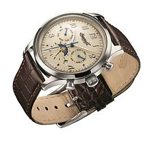 Ingersoll Union Men's Automatic Watch with Brown Leather Strap IN1203CH