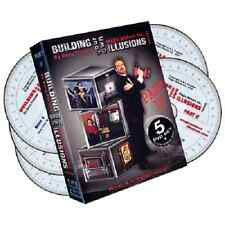 Building Your Own Illusions Part 2 Complete Video Course 6 DVD set Magic trick