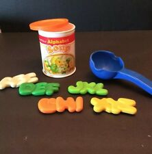Fisher Price Fun with Food Alphabet Soup Letters Can Ladle Play Pretend Food