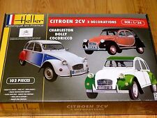 Heller 1:24 Citroen 2CV Car Model Kit