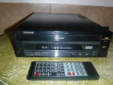 NATIONAL DISC LORD DP-300 3-D VHD PLAYER, SERVICED, WITH 10 VHD MOVIES