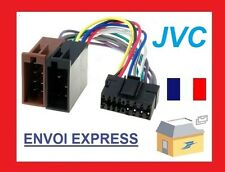 CABLE ISO ADAPTATEUR AUTORADIO JVC 16 PIN COMPLET QUALITE pour KD-LX KD-SX KD-SH