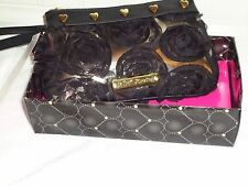 NWT BETSEY JOHNSON PRETTY GIRL WRISTLET BLACK