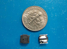 TOKO 10uH 2.5A Low Profile Power Inductor 1253AY-100M=P3, RoHS. Qty. 10pcs