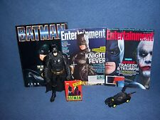 Batman LOT Action Figure Magazines 1989 Movie Book Lego Batmobile Toy VTG Dark