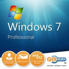 MS Microsoft Windows 7 Professional für 1PC • Original • Vollversion • 32+64 Bit