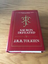 Sauron Defeated - J R R Tolkien 1st UK EDITION (1/1) HB 1992 (HoME 9)