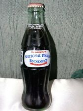 Coca-Cola NFR National Finals Rodeo Las Vegas bottle- dated 1994- unopened