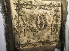 Antique French Ecclesiastical Goldwork Bullion Embroidery Restoration project