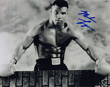 MIKE TYSON AUTOGRAPH SIGNED PP PHOTO POSTER