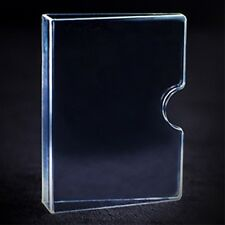 Invisible Card Guard - Clear Plastic Card Clip - Magic Tricks - New