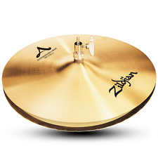 """Zildjian A0124 14"""" A Mastersound Hi Hats Top - Hihats And Drumset Cymbal - Used"""