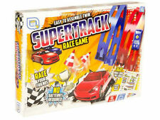 TWO PLAYERS TWIN SUPERTRACK CAR RACING GAME RACE GIANT LOOP THE LOOP TOY SET