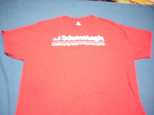 Science Logic T-Shirt cloud technology data management red XL