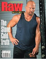 WWE MAGAZINE RAW FEBRUARY 2003 WRESTLING STONE COLD STEVE AUSTIN BROCK LESNAR
