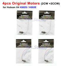 4pcs CW CCW Motor engine for Hubsan X4 H502S H502E RC Quadcopter Spare Parts