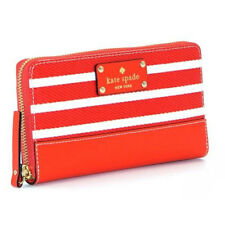 Kate Spade Wallet Wellesley Fabric Neda Empire Red Agsbeagle #COD Paypal