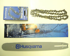 "HUSQVARNA CHAINSAW GUIDE BAR AND CHAIN 18"" PIXEL FITS  350 435 440 445 450 ETC"