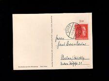 Germany Hitler Birthday Cancel & Stamp Ginger 1938 VDC Calendar Postcard 8p