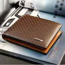 Fashion Men's PU Leather Wallet Pocket Card Clutch ID Credit Special Buy