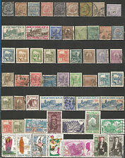 FRANCE TUNIS TUNISIA nice old stamps collection , mint / used