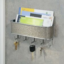 Key Holder Mail and Key Organizer Letter Rack Entryway Rack Kitchen Wall Mount