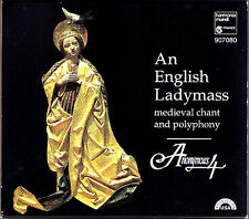 ANONYMOUS 4: AN ENGLISH LADYMASS 13, 14th Century Chant Polyphony Virgin Mary CD