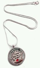In memory of by living memory lockets for less necklace dad mom son daughter