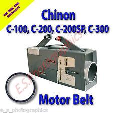 CHINON C-100, C-200, C-200SP, C-300 8mm Cine Projector Belt (Main Motor Belt)