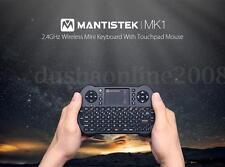 MantisTek Mini Clavier AIR Souris Sans Fil 2.4 G Avec Pavé Tactile Pr PC Android