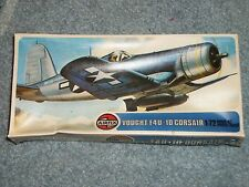 Vintage Airfix (England) Vought F4U-10 Corsair model. Still sealed!