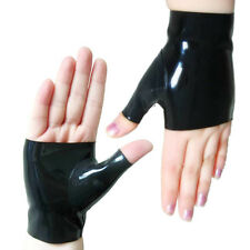 100% Handmade Rubber Latex Clothing AngelDis Latex glove fingerless #11006