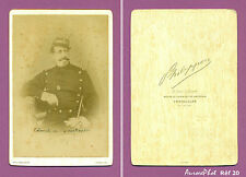 CDV CABINET MILITAIRE : COLONEL DE BOURBOULON SECOND EMPIRE CAVALERIE Réf 20