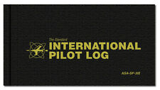 Standard International Pilot Log - Hardcover Logbook JAA ICAO & JAA - ASA-SP-30I