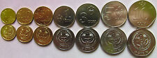 Kyrgyzstan set of 7 coins 2008-2009 (1+10+50 tyin + 1+3+5+10 som) UNC