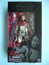 """STAR WARS BLACK 6"""" INCH WAVE 10 ROGUE ONE #37 BAZE MALBUS MIB **LIMITED STOCK**"""