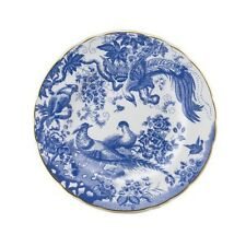 """Royal Crown Derby Blue Aves salad plate 8"""""""