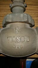 "Tasco 1-1/2"" Brass Globe Valve 300 lb. Model 4585"
