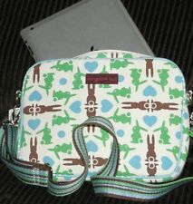 Bungalow 360 Bunny Tablet Sleeve Protective Übër Cute Natural Canvas Case!
