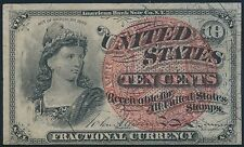 Fr1259 - Au - 10¢ 4Th Issue Fractional Currency Br5577
