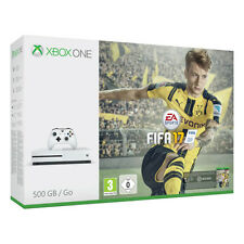 Microsoft Xbox One S 500GB 4K UHD with 1 Controller and Fifa 17 Game