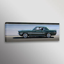 "1968 California Special Ford Mustang Car Photo Wall Art Canvas Print 12""x36"""
