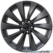 "19"" GUNMETAL TURBINE WHEELS FITS VW CC Eos GOLF GTI JETTA MK5 MKV PASSAT B6 RIMS"