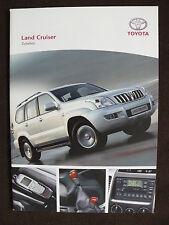 Toyota Land Cruiser - Zubehör - Prospekt Brochure 01.2007