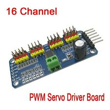 16 Channel Robot Servo Control Board 12-bit PWM I2C Servo Driver for Arduino r3