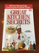 Great Kitchen Secrets By Chef Tony Notaro As Seen On TV Book