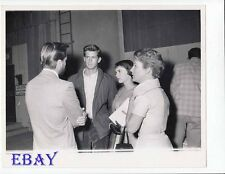 Tony Perkins Natalie Wood candid VINTAGE Photo candid 1956