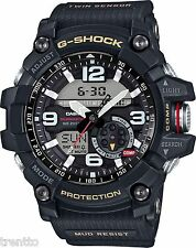 RELOJ CASIO WATCH G SHOCK MUDMASTER NEW HOMBRE TERMOMETRO MEN 200 M GG-1000-1AER