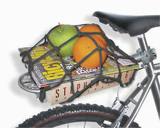 Bicycle Rack Cargo Net Bike Back Rack Bungie SEE Video