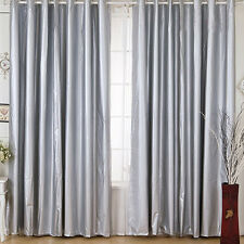 Waterproof 100% BLOCKOUT Silver Coated Light Blocking Curtain 140cm*225cm LC922